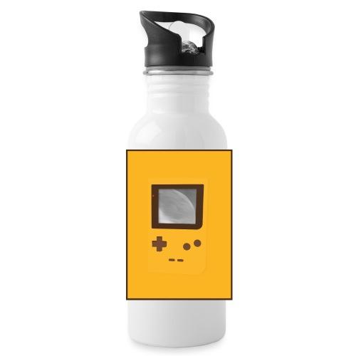 Game Boy Nostalgi - Laurids B Design - Drikkeflaske med integreret sugerør