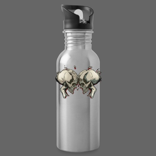 MHF_Logo_Loose-Skulls - Water Bottle