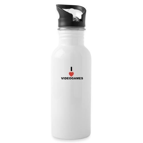 I Love Videogames - Water Bottle