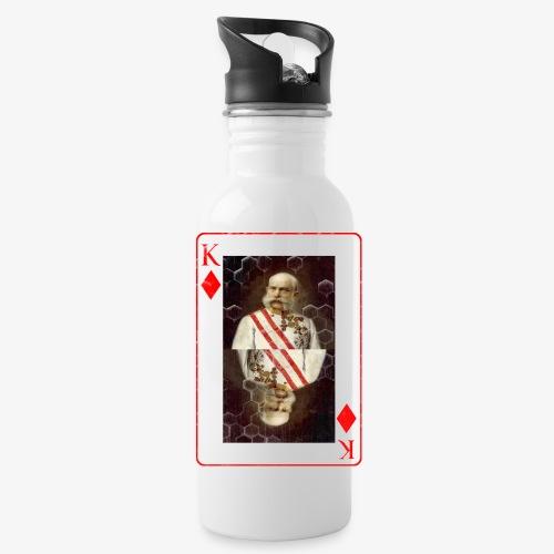 Kaiser Franz von Österreich spielkarte - Trinkflasche
