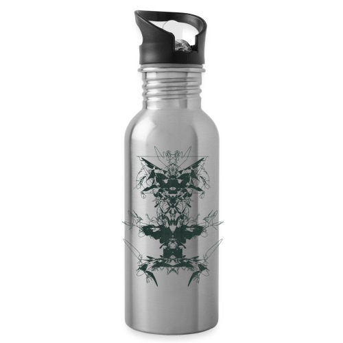 Magnoliids - Water bottle with straw