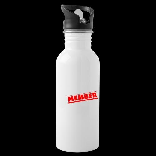 NuEra Crew Logo 2018 - Trinkflasche