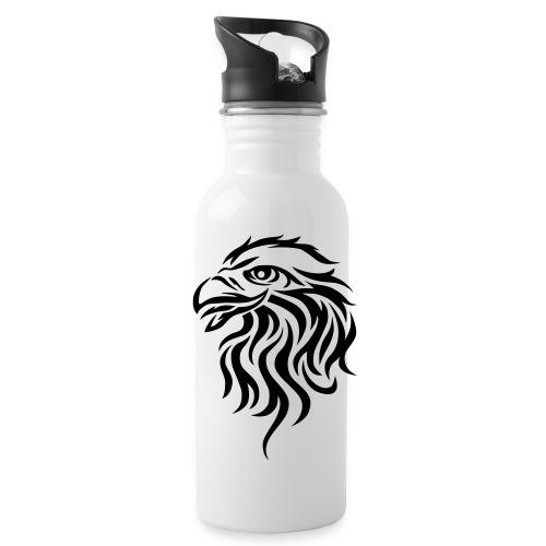 Logo_black_vek2 - Trinkflasche