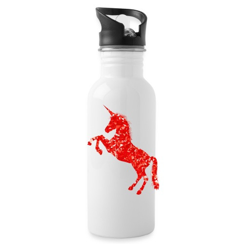 unicorn red - Bidon