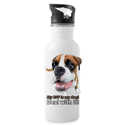 MY Best Friend Forever is my dog! - Water Bottle