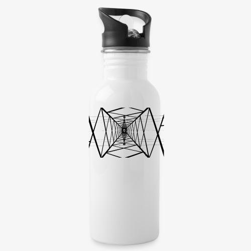 Quermast V2 Schwarz - Trinkflasche