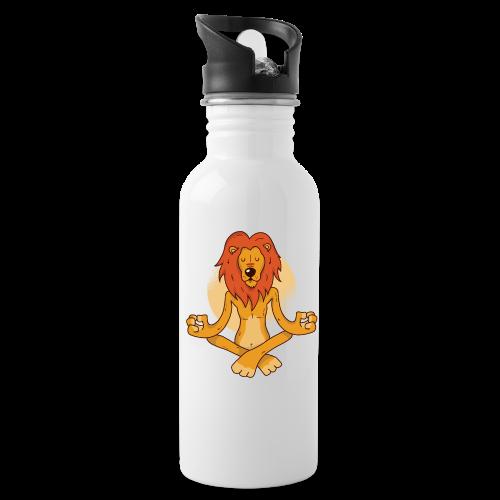Yoga Lion - Water Bottle