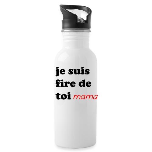 je suis fier de toi mama - Water Bottle