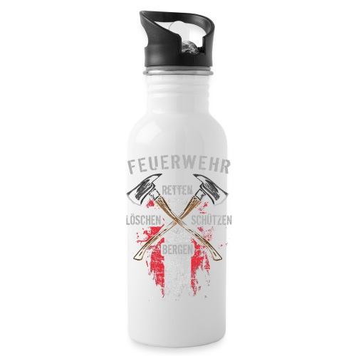 Retten Löschen Bergen Schützen - Trinkflasche