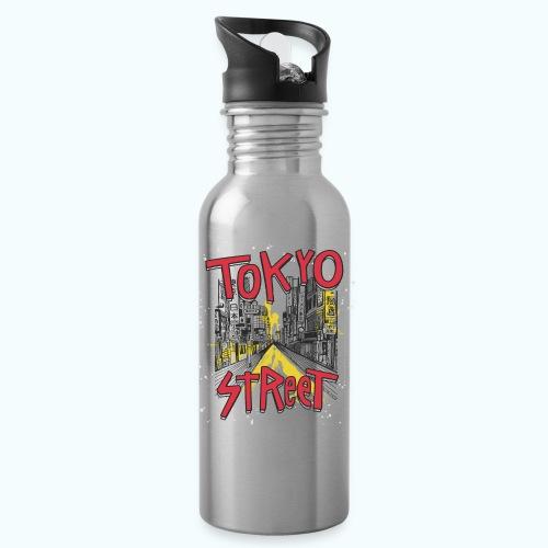 Travel To Tokyo 80s Retro Vintage - Water Bottle
