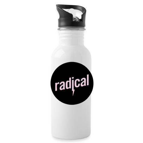 rad logo - Trinkflasche