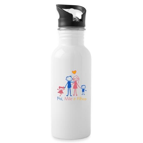 Pai Mãe e Filhos - Water Bottle