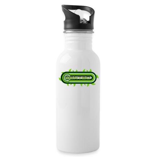 GREEN LOGO - Botella cantimplora con pajita integrada