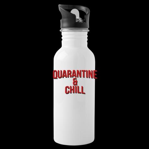 Quarantine & Chill Corona Virus COVID-19 - Trinkflasche