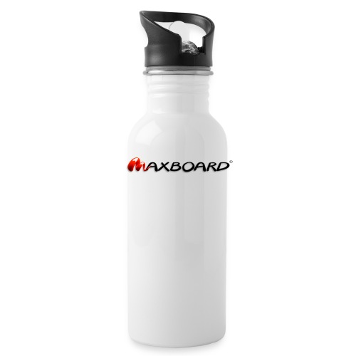 Maxboard Logo black 3D - Trinkflasche