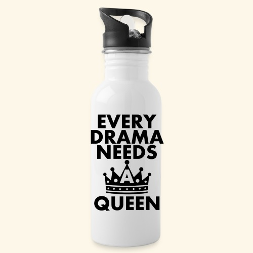 EVERY DRAMA black png - Water Bottle