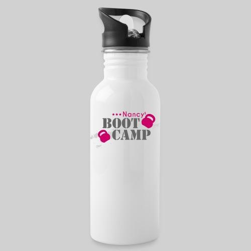 nancys bootcamp logo pink xxl transparent png - Trinkflasche