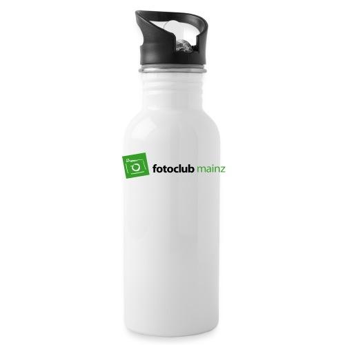 FC Logo Grün Schwarz - Trinkflasche