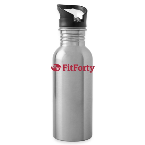 Red Line Logo - Water Bottle