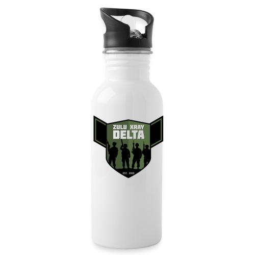 Zulu X-Ray Delta Logo - Water Bottle