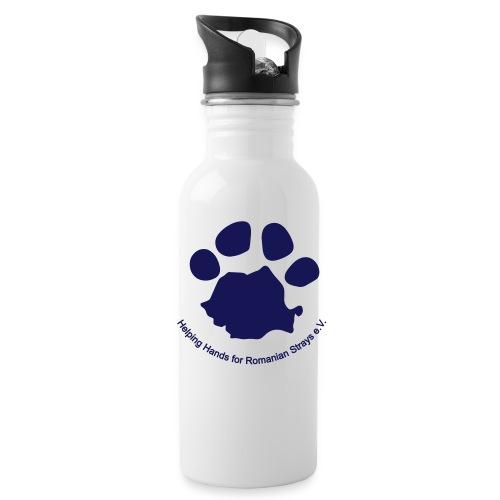 pfote logo - Trinkflasche