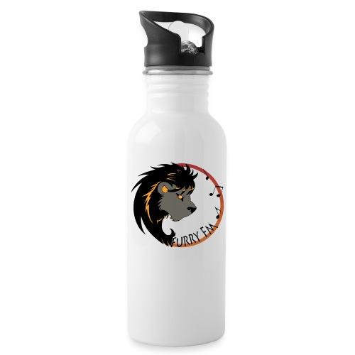Furry FM Logo - Trinkflasche
