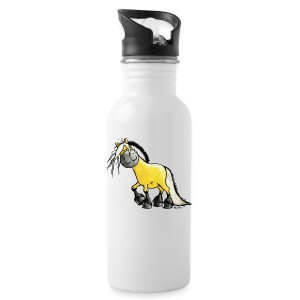 fjord_horse-png - Water Bottle