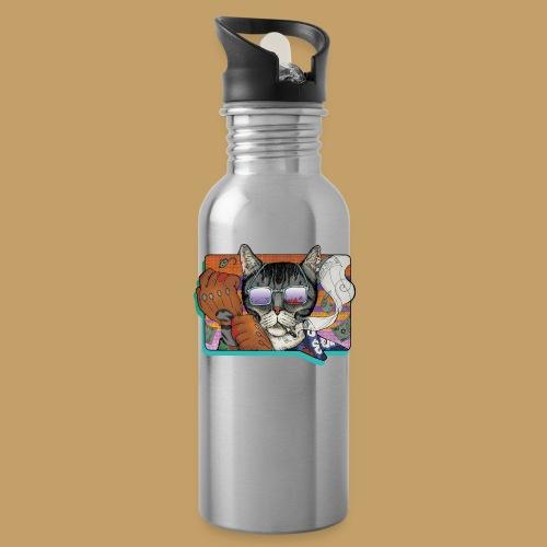 Crime Cat in Shades - Bidon