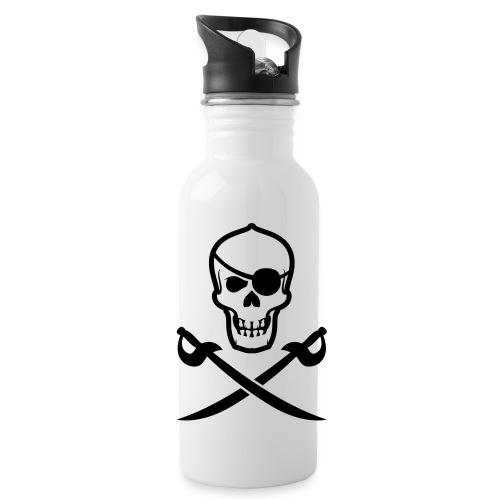 Totenkopf Pirat - Trinkflasche