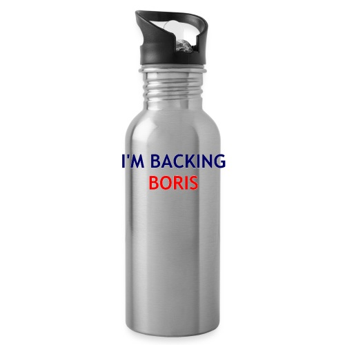 Backing Boris - Boxer Shirts - Water Bottle