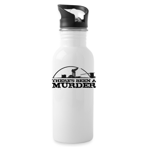 There s Been A Murder - Water Bottle