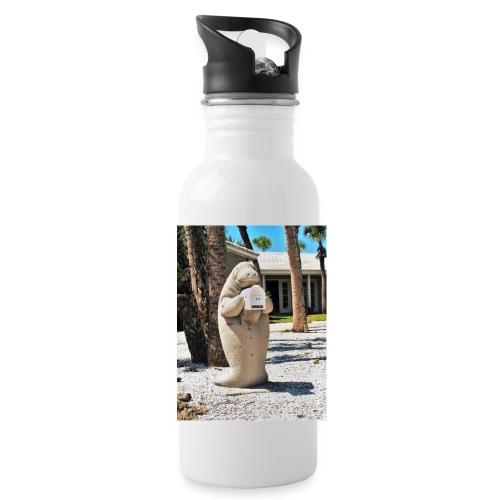 Manatee als Briefkasten - Trinkflasche
