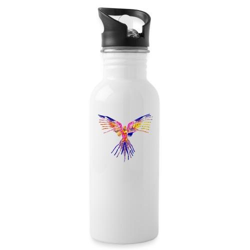 K.A Shirts - Drikkeflaske med integreret sugerør