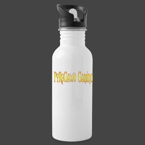 PyroGawd Logo Text - Trinkflasche