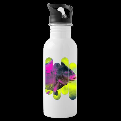 Neon colors fish - Water Bottle