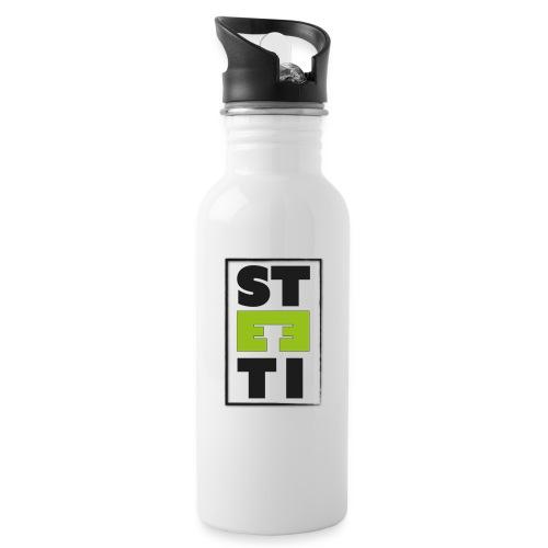 Steeti logo - Vattenflaska