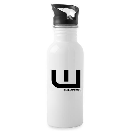 Wildtek Logo Black - Water Bottle