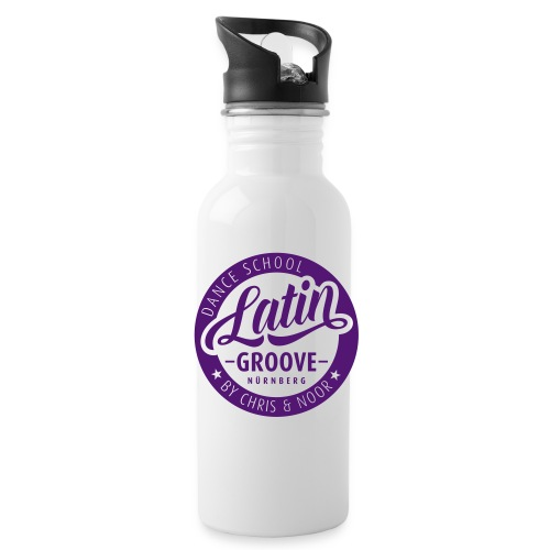Latin Groove Logo - Trinkflasche