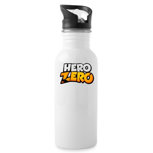 Hero Zero Logo - Water Bottle