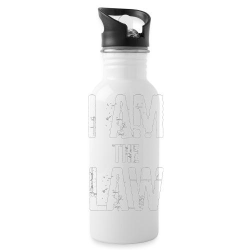Tank top girl woman I AM THE LAW per avvocatessa - Water Bottle