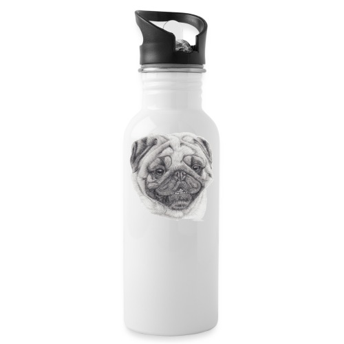 Pug mops 2 - Drikkeflaske