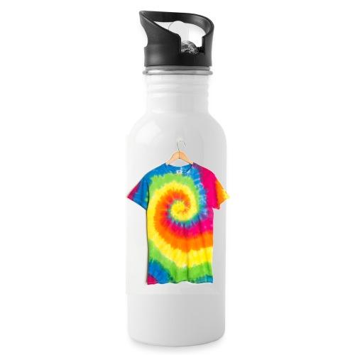tie die small merch - Water Bottle