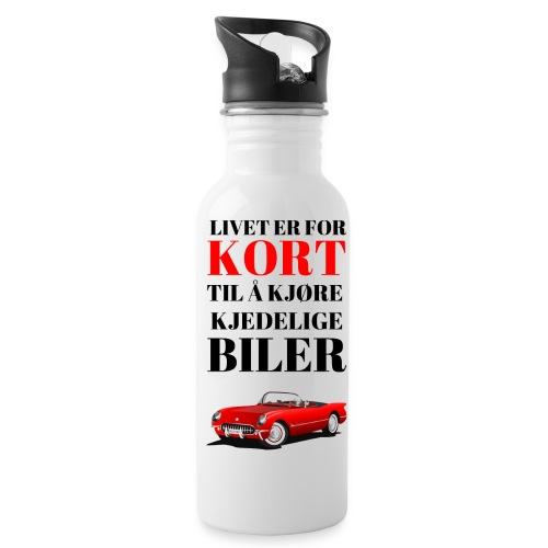 Bilinteressert - Drikkeflaske