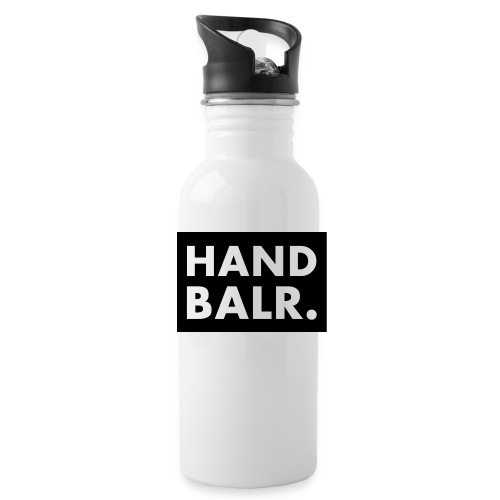 Handbalr Wit - Drinkfles