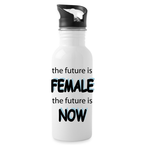 Future Female Now - Trinkflasche