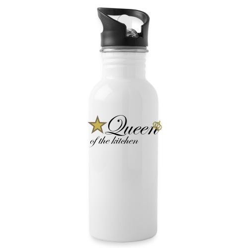 Queen of the kitchen - Trinkflasche