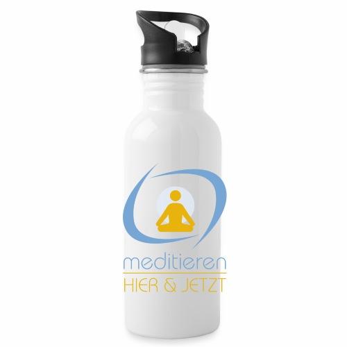 MeditierenHierJetzt.ch - Trinkflasche