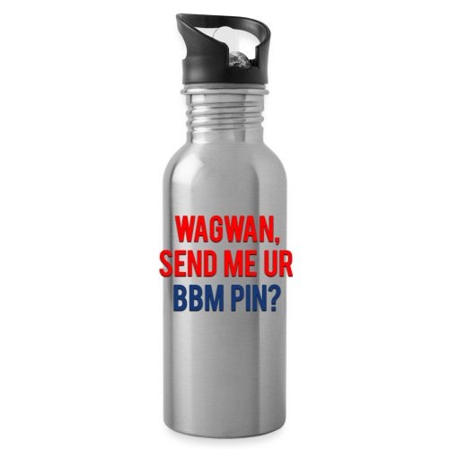Wagwan Send BBM Clean - Water Bottle