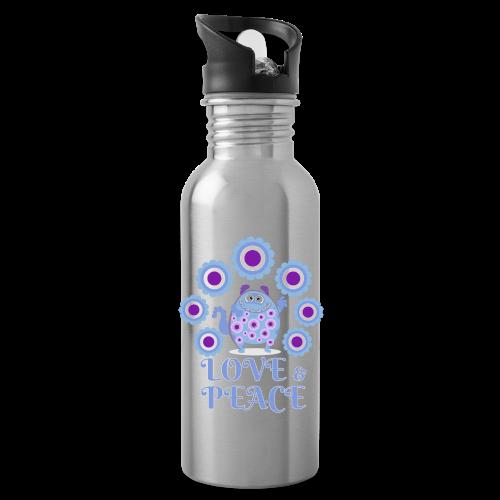 Hippie monster - Water Bottle