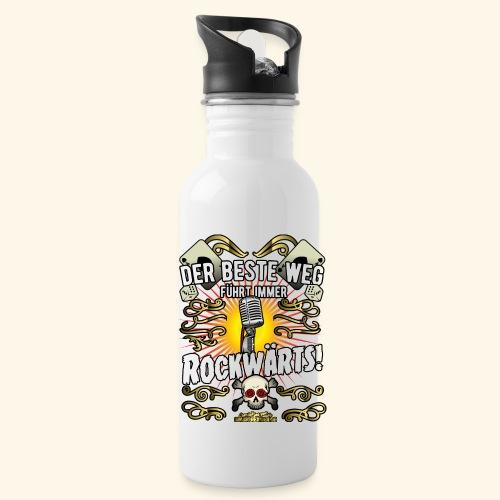 Rock Music Shirt ROCKWÄRTS - Trinkflasche